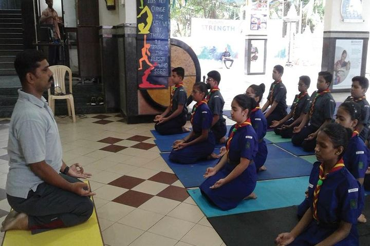 Veer Bhagat Singh International School-Yoga Day Celebrations