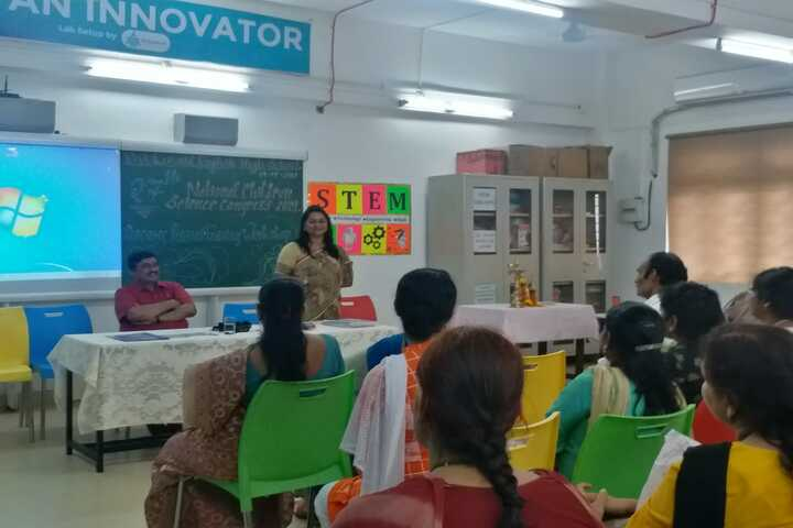 Vivekanand English High School-NSCS Resourse Persons Training
