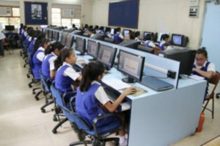 The JB Vachha High School-IT Lab