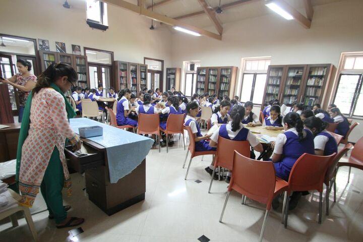 The JB Vachha High School-Library
