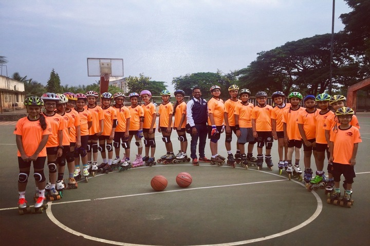Utpal Shanghvi Global School-Basket Ball Court