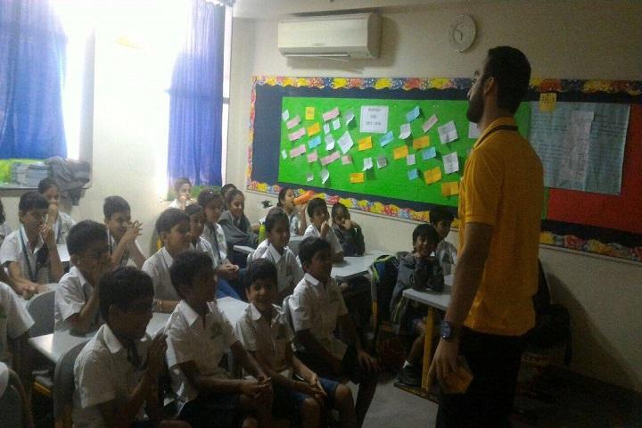 CP Goenka International School-Class Room