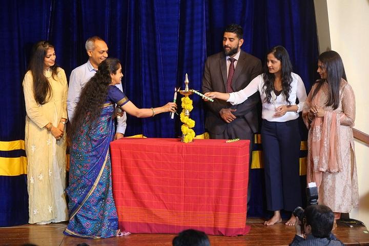 CP Goenka International School-Lighting The Lamp
