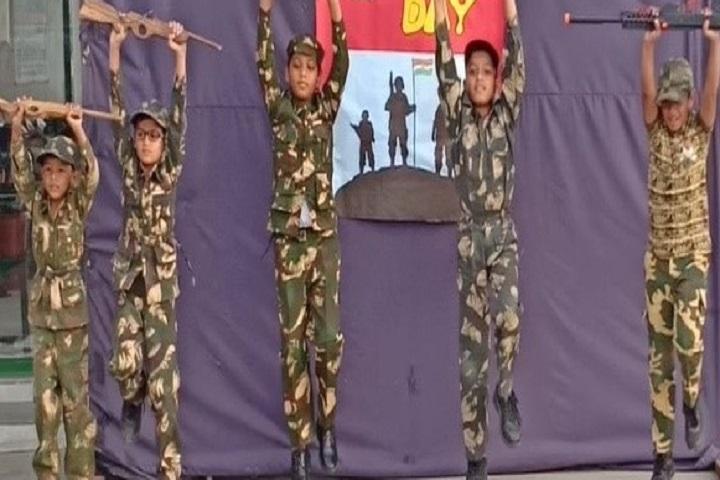 Delhi Public School-Army Day Celebration