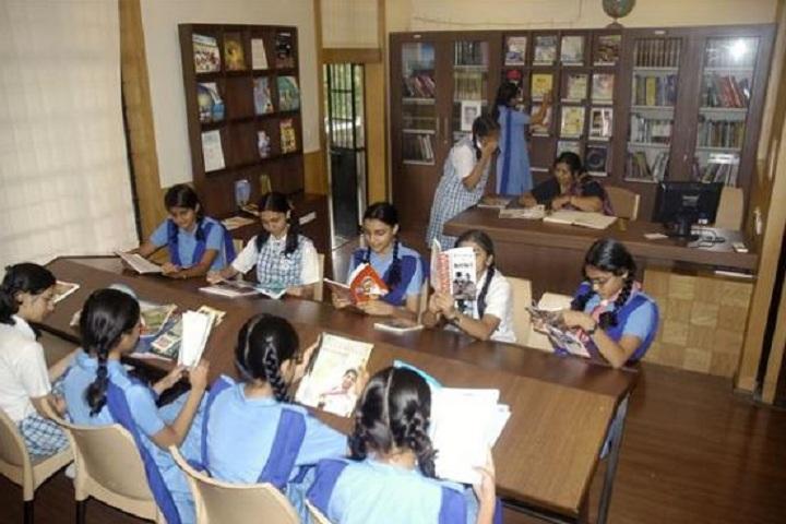 Lourdes Convent High School-Library