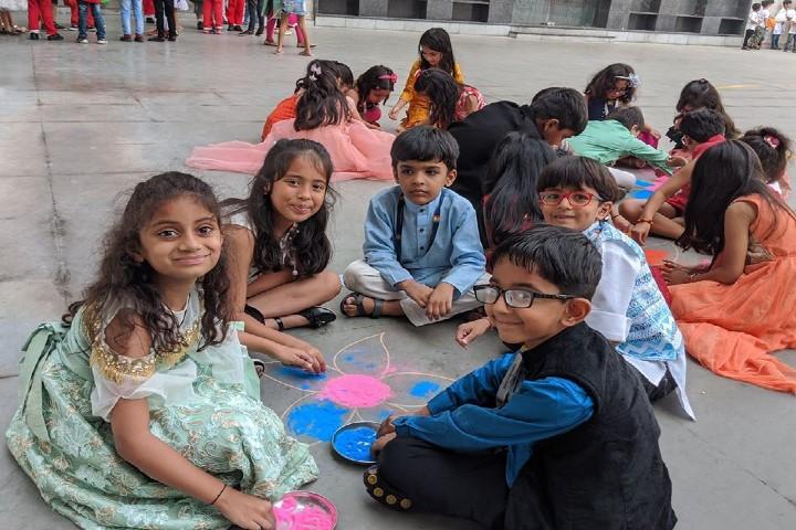 T.M. Patel International School - Festival Activity
