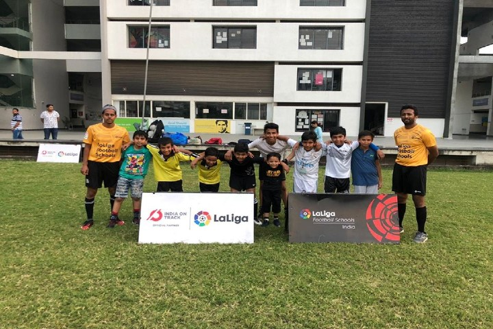 T.M. Patel International School - Football