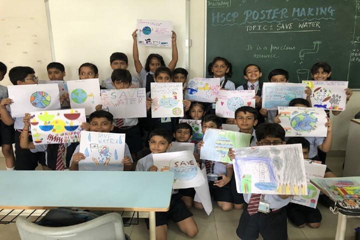 T.M. Patel International School - Poster Making