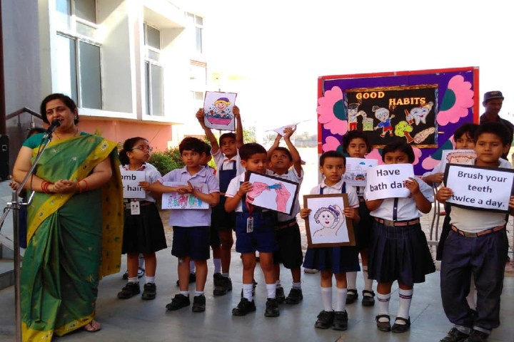 Seth MR Jaipuria School-Special Assembly