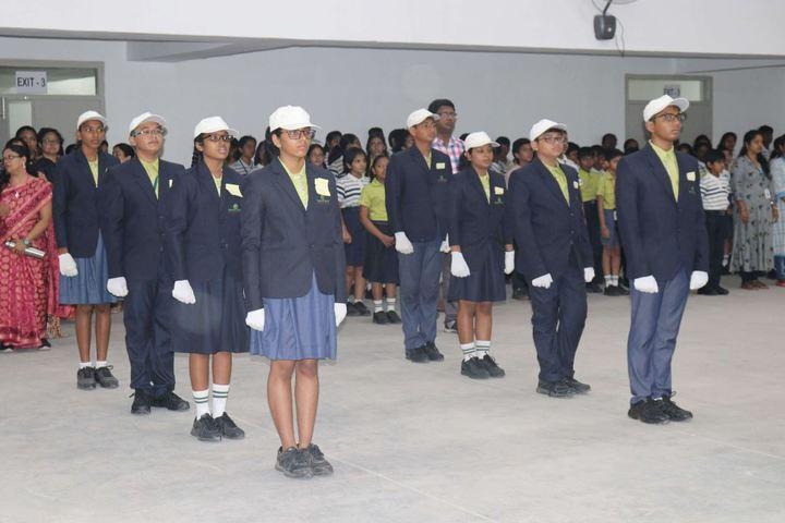 Epistemo Vikas Leadership School-Epistemo Vikas Leadership School-Epistemo Vikas Leadership School-Investiture Ceremony