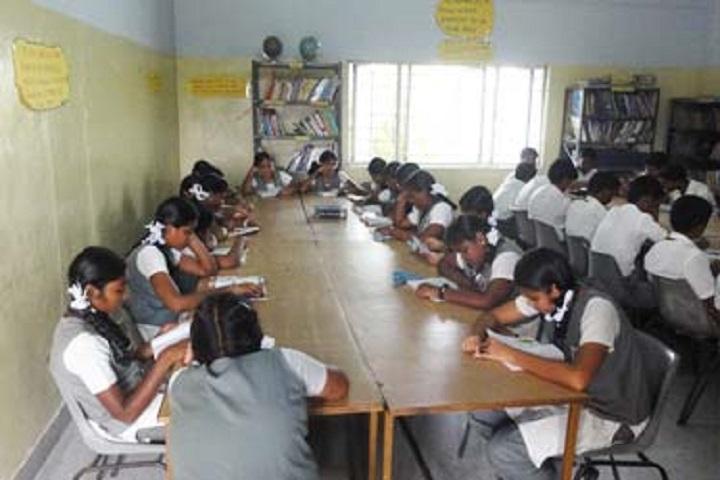 Alpha Matriculation Higher Secondary School-Library