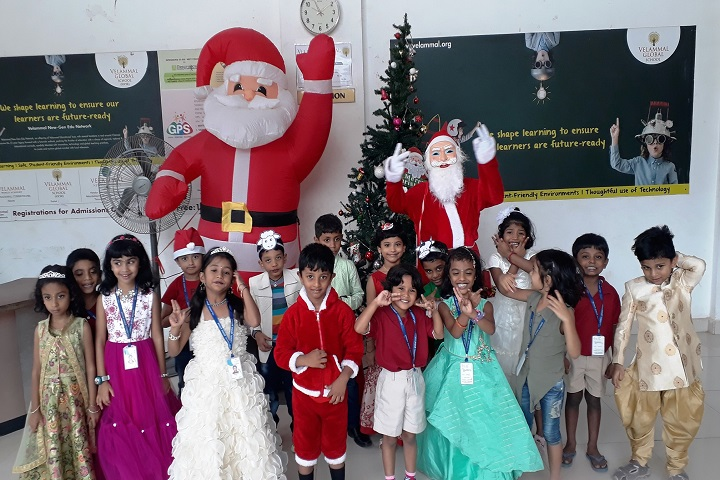 Velammal Global School-Christmas Celebration