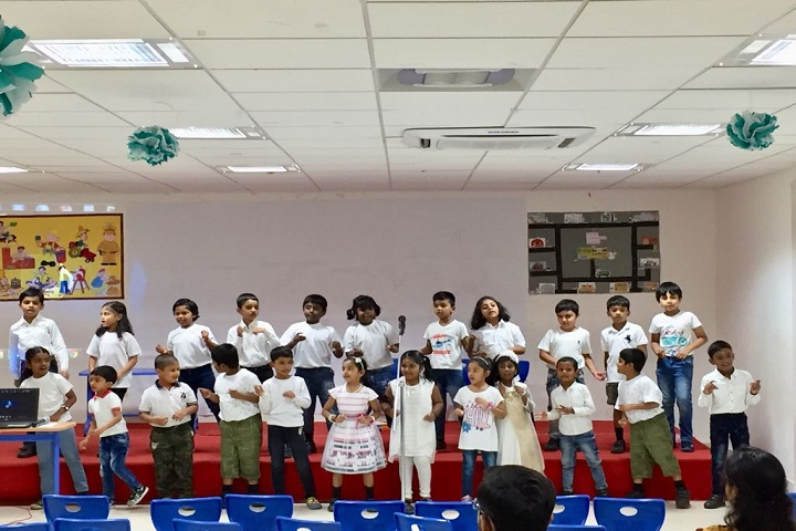 Velammal Global School-Singing