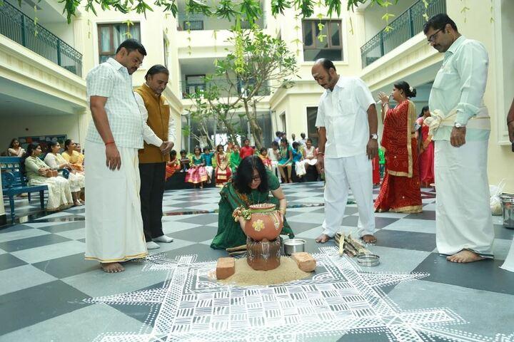 Chettinad Sarvalokaa Education International School-Pongal Celebration