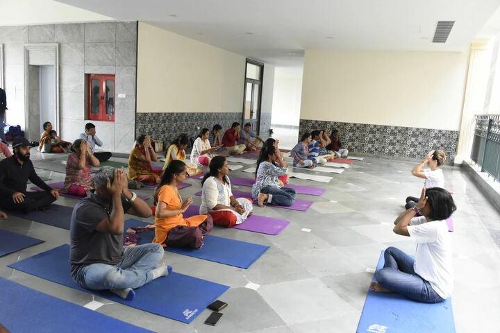Chettinad Sarvalokaa Education International School-Yoga Day