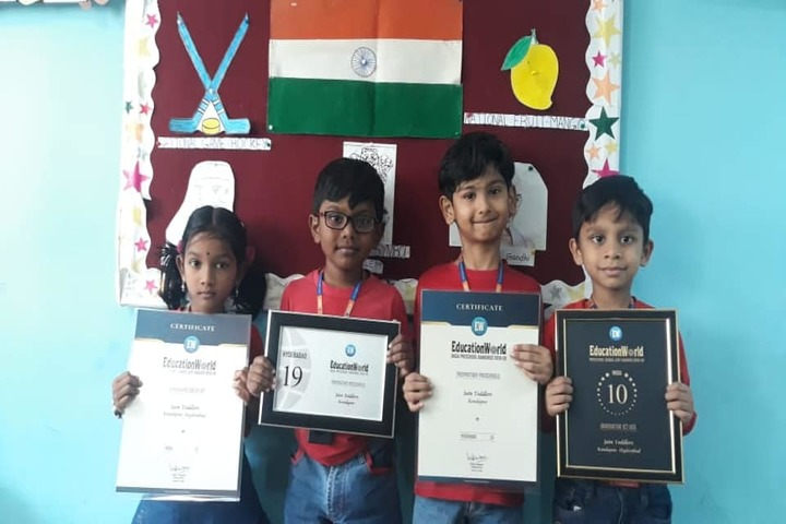Jain Heritage a Cambridge School-Awards