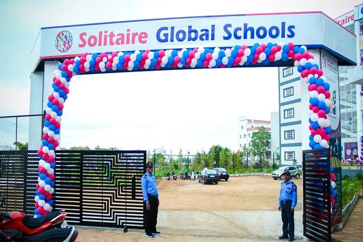 Solitaire Global Schools-Entrance