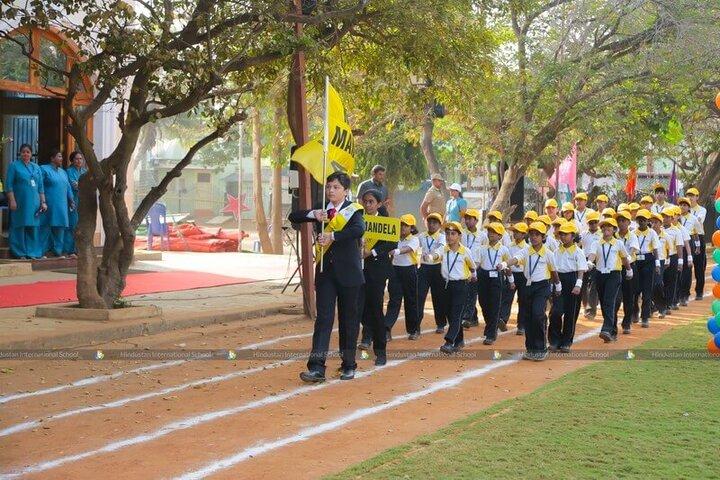 Hindustan International School-March Past