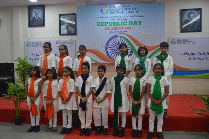 Hindustan International School-Republic Day