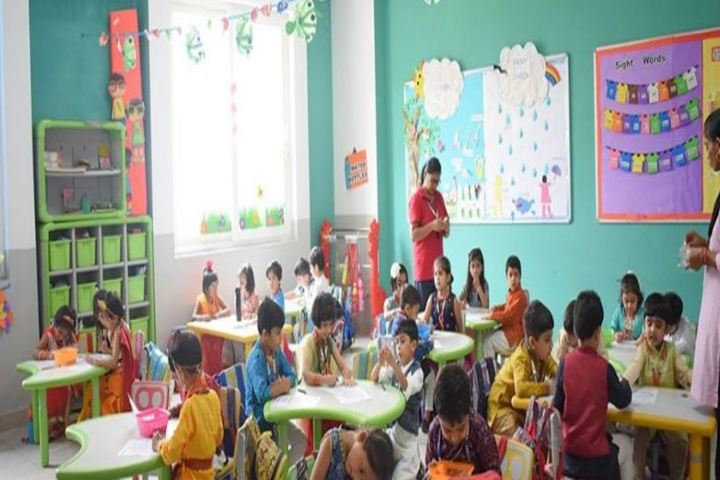 Pacific World School-Classroom