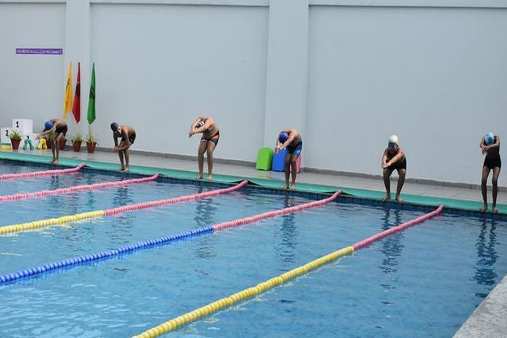 Pacific World School-Swimming Competitions
