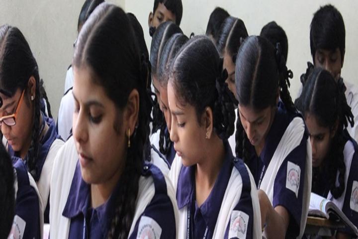 Sri Gurudatta High School-Students