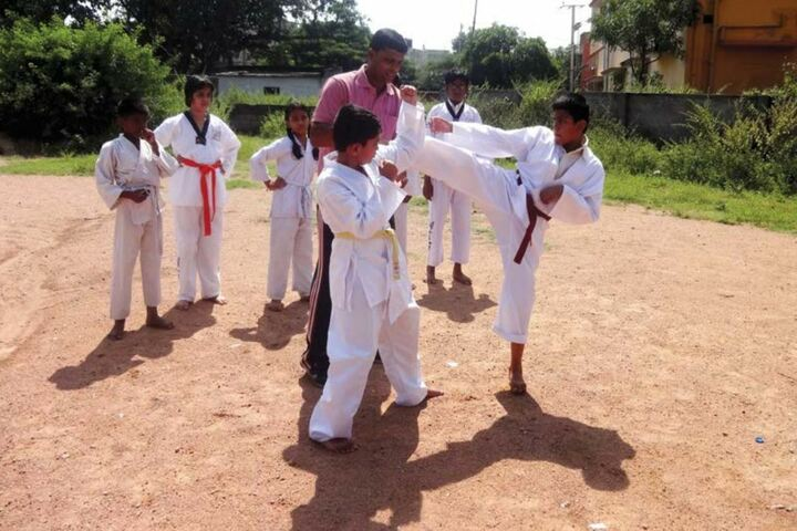 FIITJEE World School-Karate