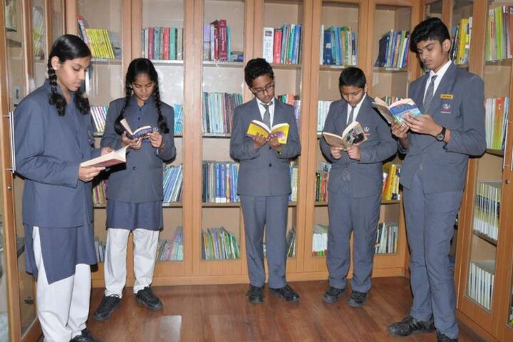 FIITJEE World School-Library