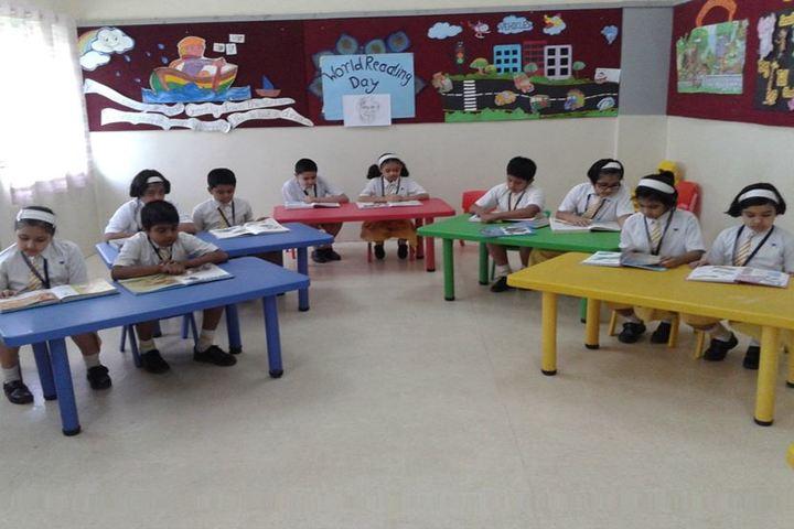 P B Jog High School And Junior College-Kids Classroom