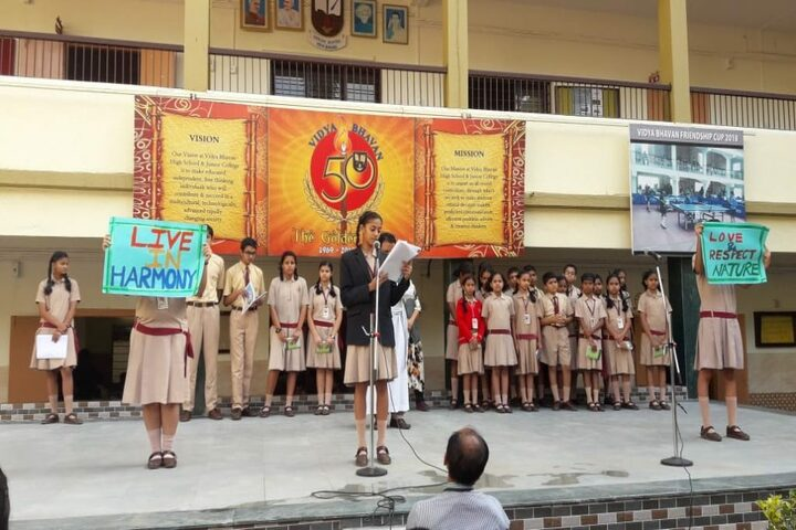 Vidya Bhavan School and Junior College-Assembly