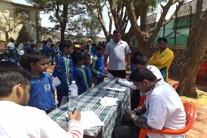 National Public School-Health Check Up Camp