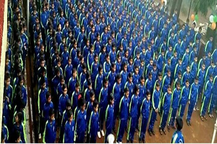 National Public School-Morning Assembly