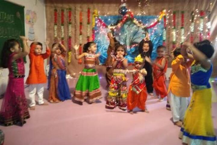 Tripada English School-Janmashtami Celebration