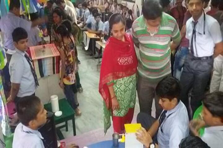 Tripada English School-Science Exhibition