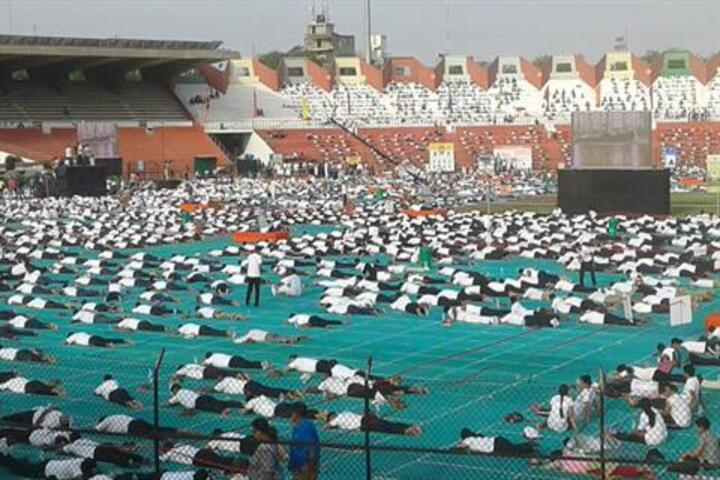Tripada English School-Yoga Day