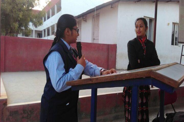 VED International School-Assembly