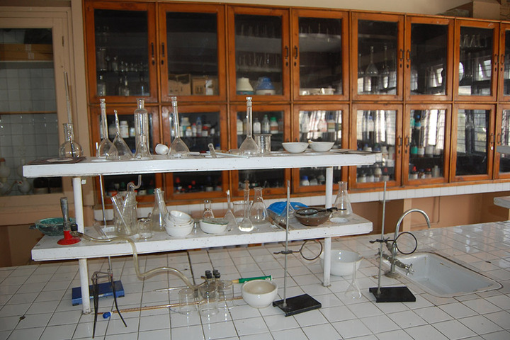 Burn Hall Higher Secondary School-Laboratories