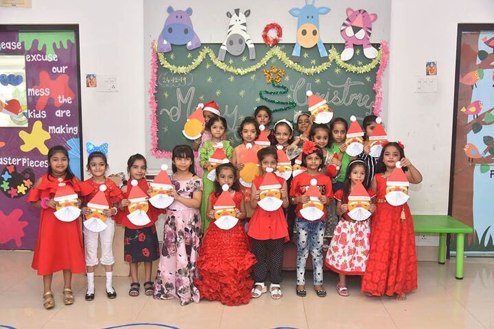 Kudila Govindram Seksaria English School-Christmas Celebrations