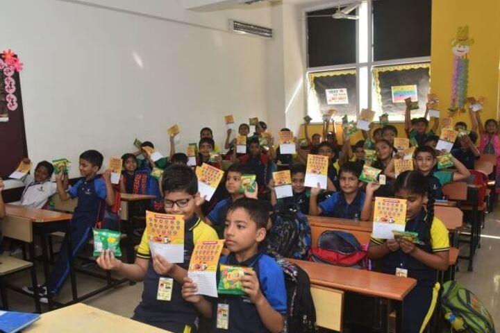 Kudila Govindram Seksaria English School-Classroom Activity