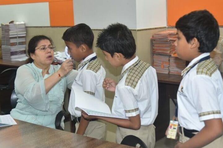 Kudila Govindram Seksaria English School-Medical Facility