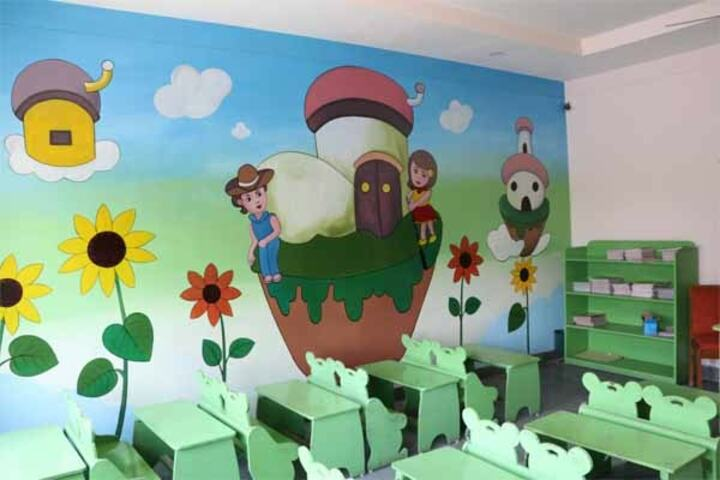 VSI International English Medium School-Kids Classroom