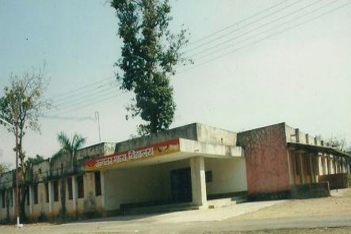Government Model Higher Secondary School-Back-View