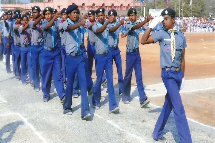 Government Model Higher Secondary School-Scouts