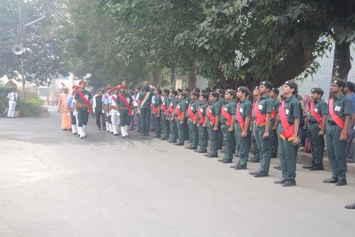 Ramakrishna Mission Vidyalaya-NCC