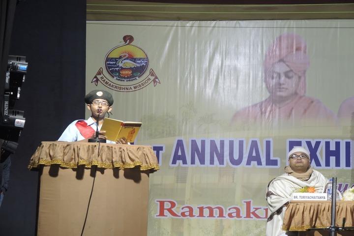 Ramakrishna Mission Vidyalaya-Speaker