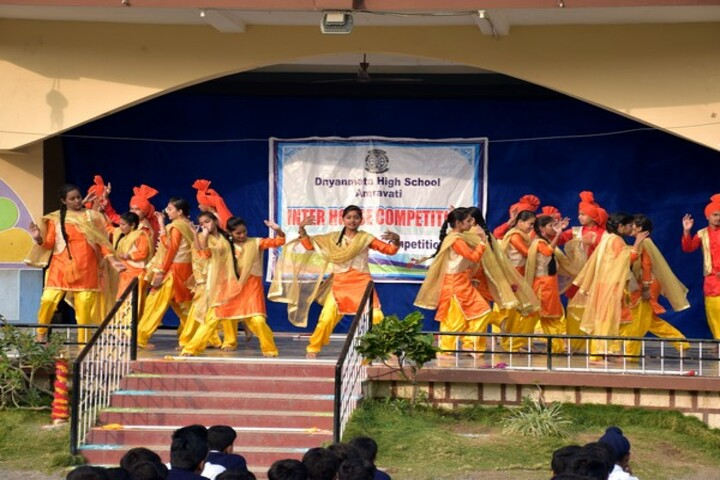 Dnyanmata High School-Group Dance Competition