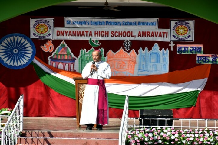 Dnyanmata High School-Independence Day
