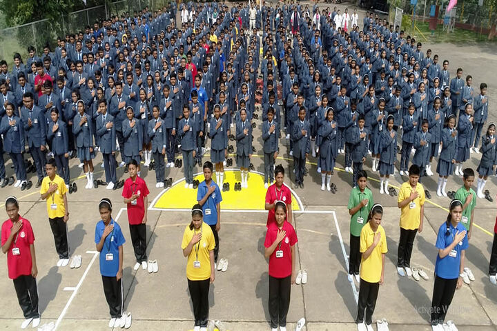 Hillgreen High school And Jr College-Morning Assembly