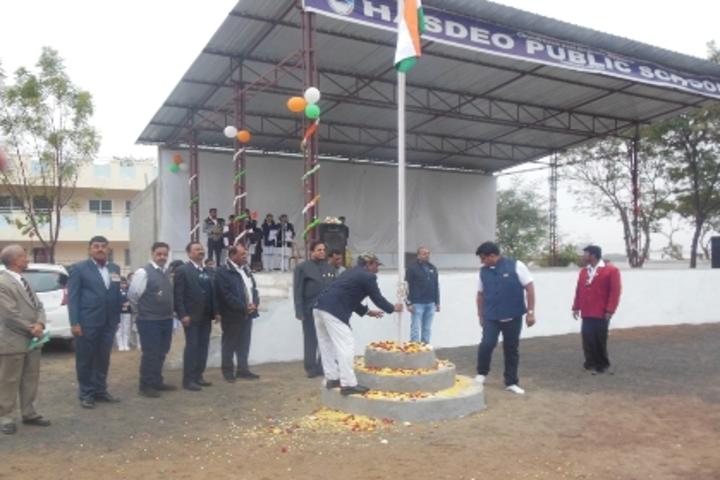Hasdeo Public School - Flag-Hosting