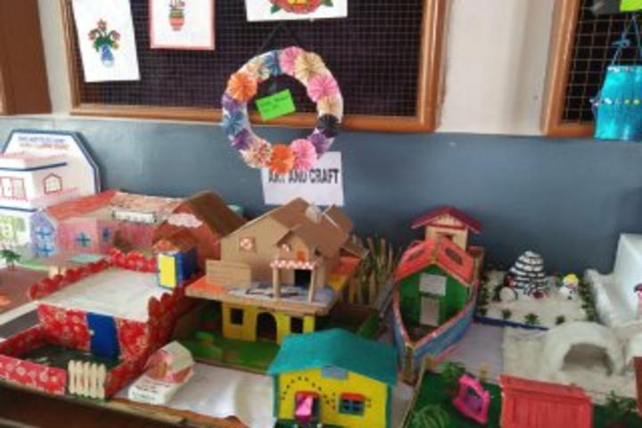 Hasdeo Public School-Exhibition